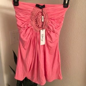 Pink Sky top NWT